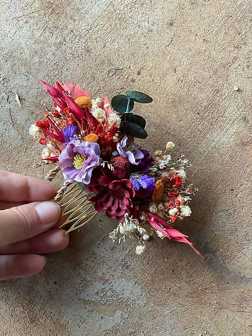 """Kvetinový hrebienok """"sľuby"""""""
