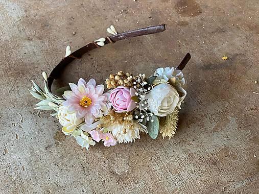 """Kvetinová čelenka """"na perách lásku máš"""""""