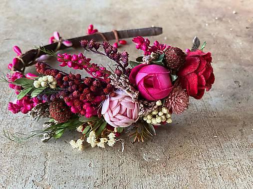 """Kvetinová čelenka """"bozky najsladšie"""""""