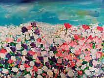 Obrazy - Lúka plná kvetov - 12279237_