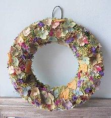 """Dekorácie - Kvetinový veniec """"Ellie"""" - 12281498_"""
