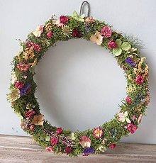"""Dekorácie - Kvetinový veniec """"Gina"""" - 12282977_"""