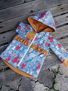 Detské oblečenie - Č. 80 s volánikmi - 12282986_