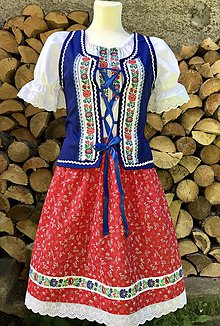 """Šaty - Ľudový dámsky kroj """"Lojzka"""" - 12282050_"""