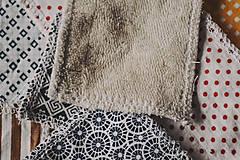 Úžitkový textil - Odličovacie tampóny  - 12283196_