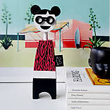 Dekorácie - Drevená bábika Sisi - 12281342_