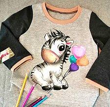Detské oblečenie - Zebrička - 12282574_