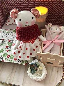 Hračky - MiNi Čarovný kufrík s myškou a babatkom - 12282827_