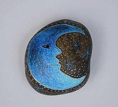 Dekorácie - Maľovaný kameň - 12283228_