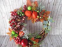 Dekorácie - Jesenný venček - 12284997_