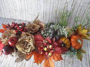 Dekorácie - Jesenná vintage dekorácia - 12285141_