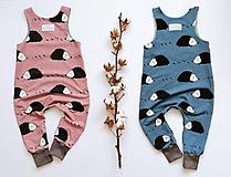 Detské oblečenie - Rastúci overal Ježko - 12284642_