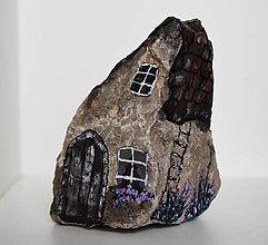 Dekorácie - Maľovaný kameň - 12285455_