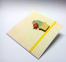 Papiernictvo - Pohľadnica ... kaktus - 12287882_