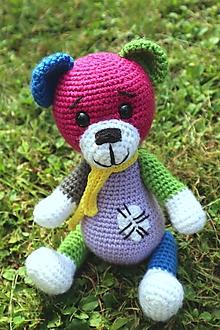 Hračky - Veselý medvedík - 12287661_