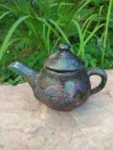 Socha - Miniatúra čajnik - 12286243_