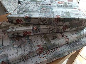 Úžitkový textil - Podsedák 130x40x5 - 12286807_
