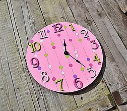 Hodiny - dievčenské hodiny - 12289318_