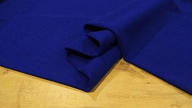 Textil - Flauš - cena za 10 centimetrov (Kráľovská Modrá) - 12288948_