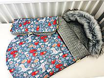 Textil - Zimný fusák pre bábätko - 12289829_