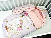 Textil - Zimný fusák pre bábätko - 12289830_