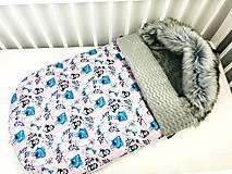 Textil - Zimný fusák pre bábätko - 12289868_