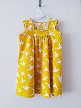 Detské oblečenie - Dievčenské šaty - 12289982_