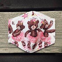 Rúška - XS-detské rúško baletky - 12291633_