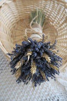 Dekorácie - levanduľová kytička - 12290354_