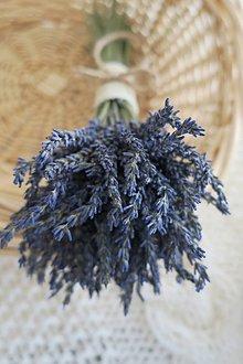 Dekorácie - levanduľová kytička - 12290461_