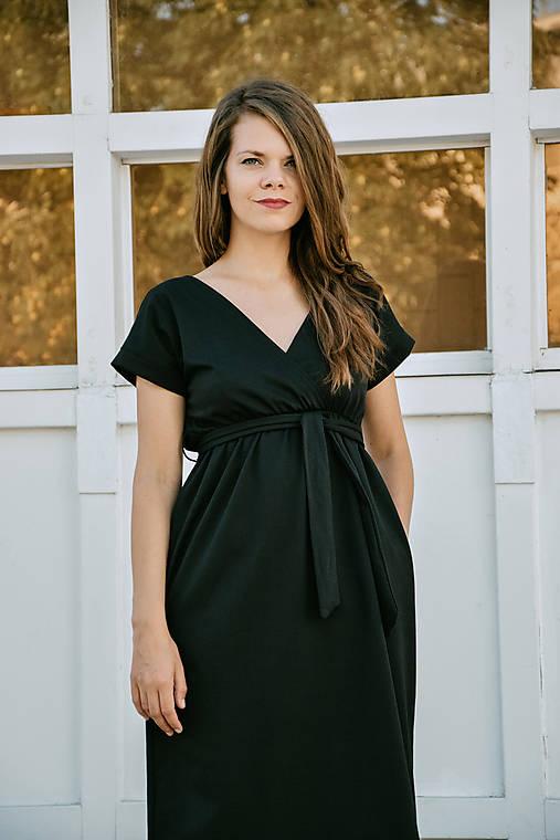 Šaty - Šaty Punta Black Switch - 12293072_