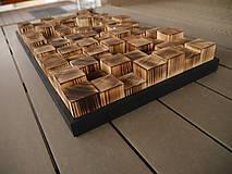 Dekorácie - 3D dekorácia - mozaika - 12294186_