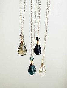 Náhrdelníky - Náhrdelník na esenciálne oleje a parfém/ Essential oils and parfum necklace - 12293760_