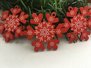 Dekorácie - Vianočná vločka - 12294197_