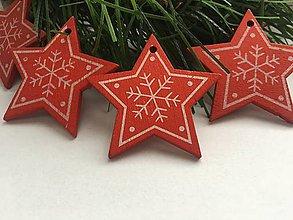 Dekorácie - Vianočné ozdoby- hviezda - 12294206_