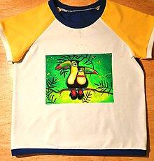 Detské oblečenie - Na zelenom - 12295751_