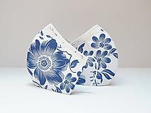 Rúška - Elegantné rúško s bavlnenou čipkou - 12292170_