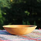 Nádoby - miska z dubového dreva - 12293431_