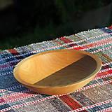 Nádoby - miska z dubového dreva - 12293432_