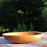 Nádoby - miska z dubového dreva - 12293484_