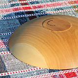 Nádoby - miska z dubového dreva - 12293485_