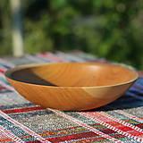 Nádoby - miska z dubového dreva - 12293528_