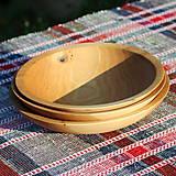 Nádoby - miska z dubového dreva - 12293532_
