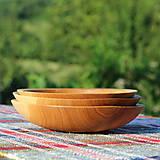 Nádoby - miska z dubového dreva - 12293533_