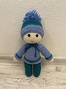 Hračky - Chlapec/chlapček v modrom - 12295481_