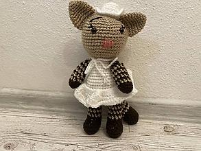Hračky - Mačka v sukničke - 12295531_