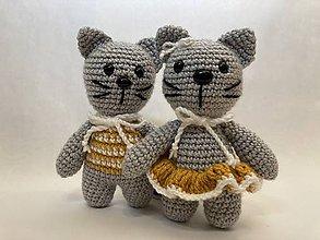 Hračky - Mačka a kocúr -ik - 12295552_