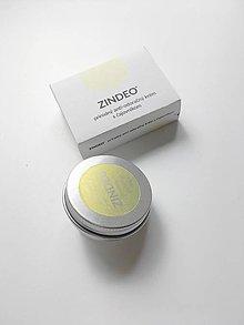Drogéria - ZINDEO® anti-odoračný krém s čajovníkovým olejom, v dóze alebo náhradná náplň - 12298449_