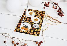 Papiernictvo - Pozdrav/pozvánka Halloween - tekvičky - 12297513_