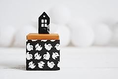 Krabičky - Mini krabičky Halloween (A) - 12297575_